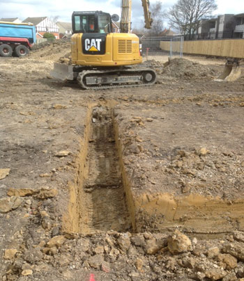 excavations and footings