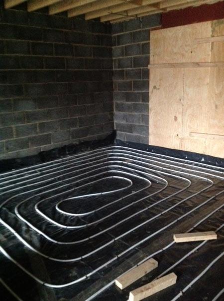 underfloor heating at Ep Homes